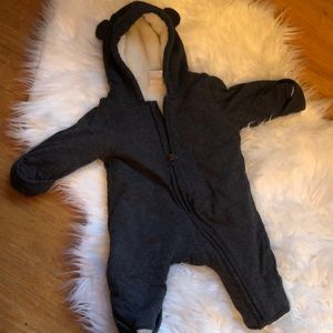 H&M baby bunting suit for newborn